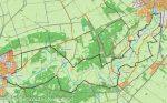 Ommen Hardenberg Kaart fietsroute