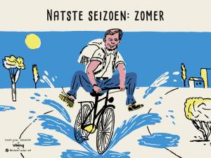 Invloed van het weer op fietsgedrag van werkend Nederland