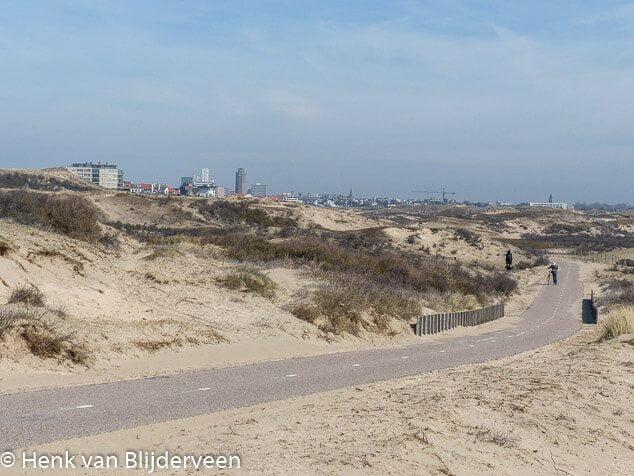 Zicht op Zandvoort
