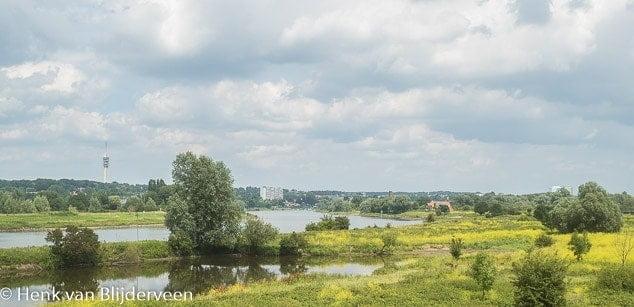 De Rijn bij Arnhem